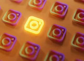 Popularne konto na Instagramie